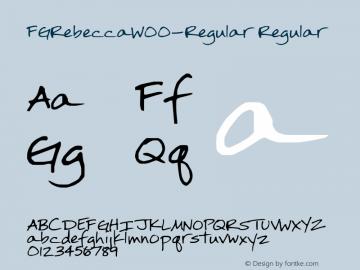 FGRebecca-Regular