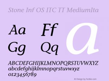 Stone Inf OS ITC TT