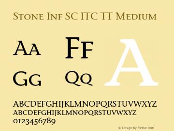 Stone Inf SC ITC TT