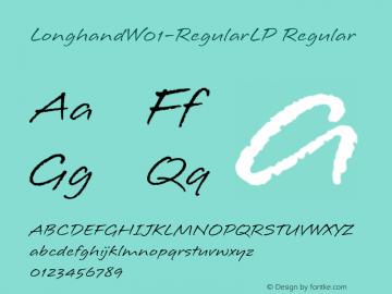 Longhand-RegularLP