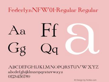 FederlynNF-Regular