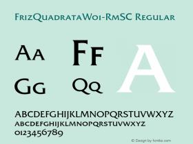 FrizQuadrata-RmSC