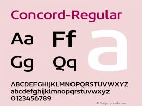 Concord-Regular