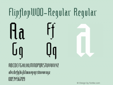 Flipflop-Regular
