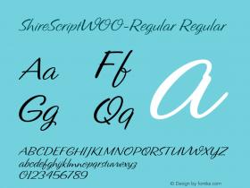 ShireScript-Regular