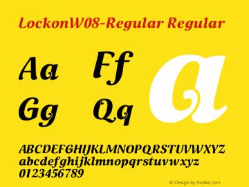 Lockon-Regular