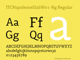 ITCNapoleoneSlab-Rg