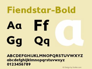 Fiendstar-Bold