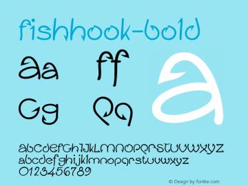 Fishhook-Bold