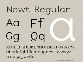 Newt-Regular