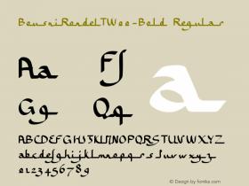 BousniRondeLT-Bold