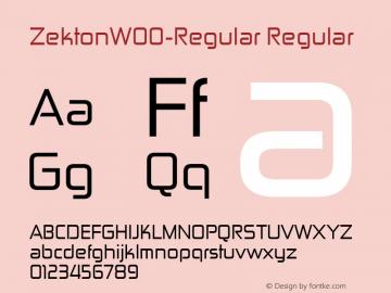 Zekton-Regular