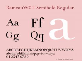 Rameau-Semibold