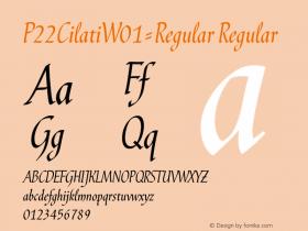 P22Cilati-Regular