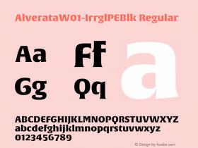 Alverata-IrrglPEBlk