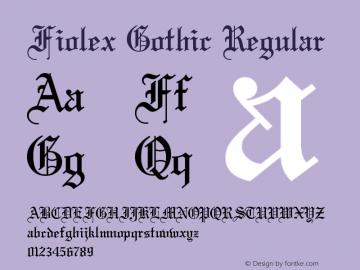 Fiolex Gothic