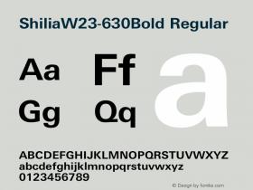 Shilia-630Bold