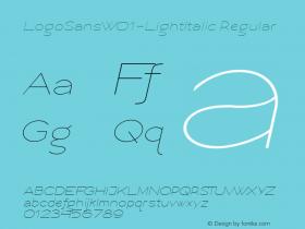 LogoSans-LightItalic