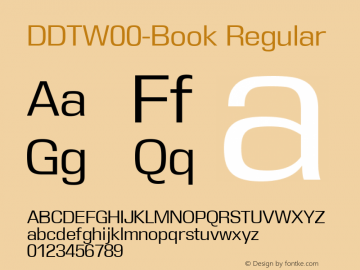 DDT-Book