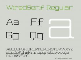 WiredSerif