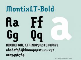 MontixLT-Bold