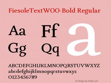 FiesoleText-Bold