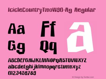IcicleCountryTwo-Rg
