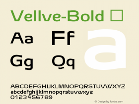 Vellve-Bold