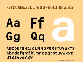 F2FOCRBczykLT-Bold