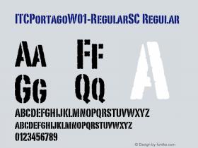ITCPortago-RegularSC