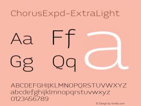 ChorusExpd-ExtraLight