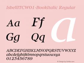 IsbellITC-BookItalic