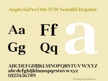 AngleciaProTitle-SemiBd