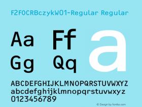 F2FOCRBczyk-Regular