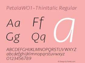 Petala-ThinItalic