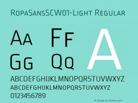 RopaSansSC-Light