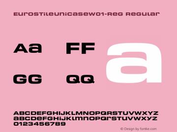 EurostileUnicase-Reg