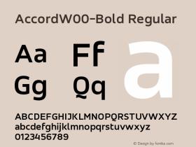 Accord-Bold