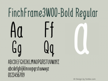 FinchFrame3-Bold