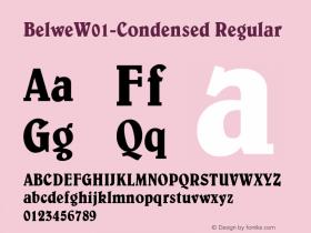 Belwe-Condensed