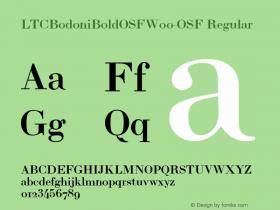 LTCBodoniBoldOSF-OSF