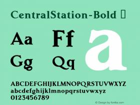 CentralStation-Bold