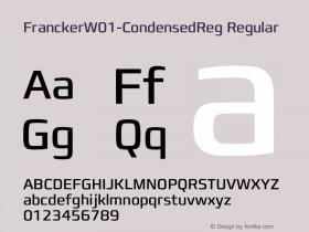 Francker-CondensedReg