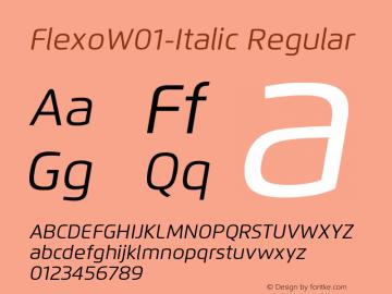 Flexo-Italic
