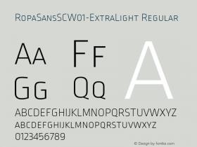 RopaSansSC-ExtraLight