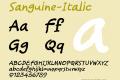 Sanguine-Italic