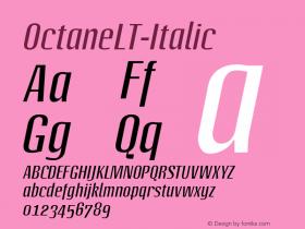 OctaneLT-Italic
