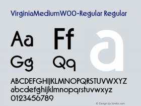 VirginiaMedium-Regular