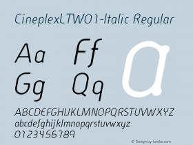 CineplexLT-Italic