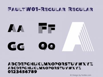 Fault-Regular